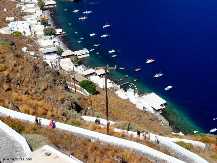 Santorini solo trip
