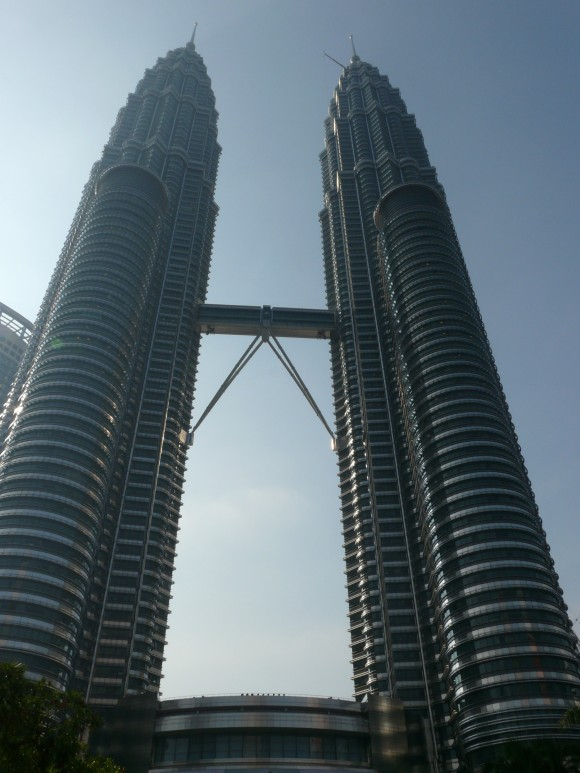 speeding through Asia - Kuala Lumpur Petronas Towers