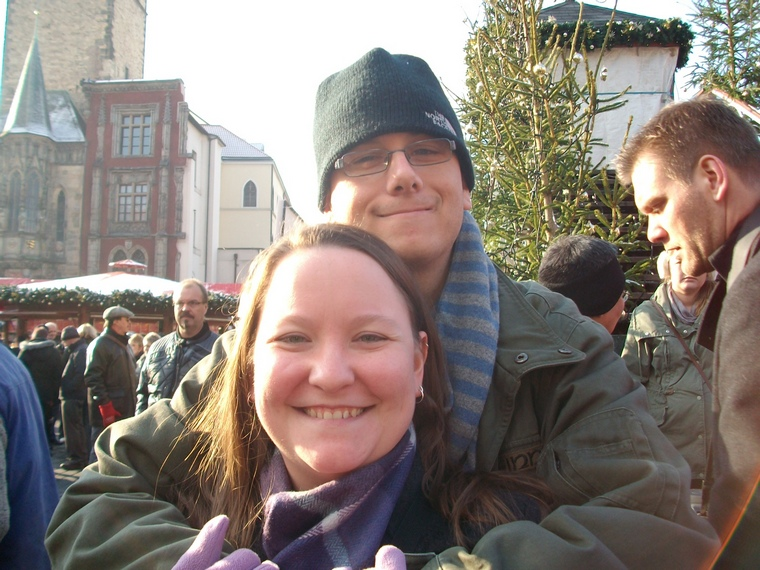10 years of blogging - meeting Andy in Prague