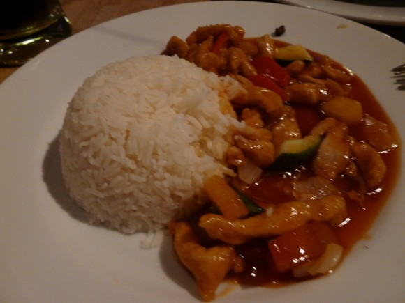 Brunei sweet and sour chicken - food in Southeast Asia