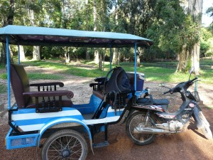 Relaxing in Siem Reap, Cambodia