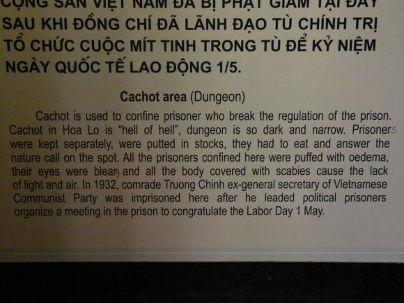 Hoa Lo Prison Museum, Hanoi, Vietnam