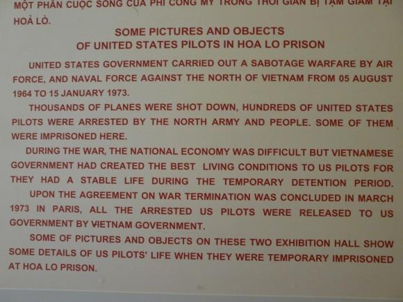 Hao Lo Prison Museum, Hanoi, Vietnam