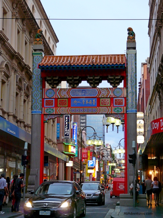 Chinatown - things to do in Melbourne Australia