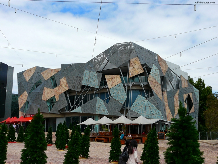 Federation Square - what to do in Melbourne, Australia