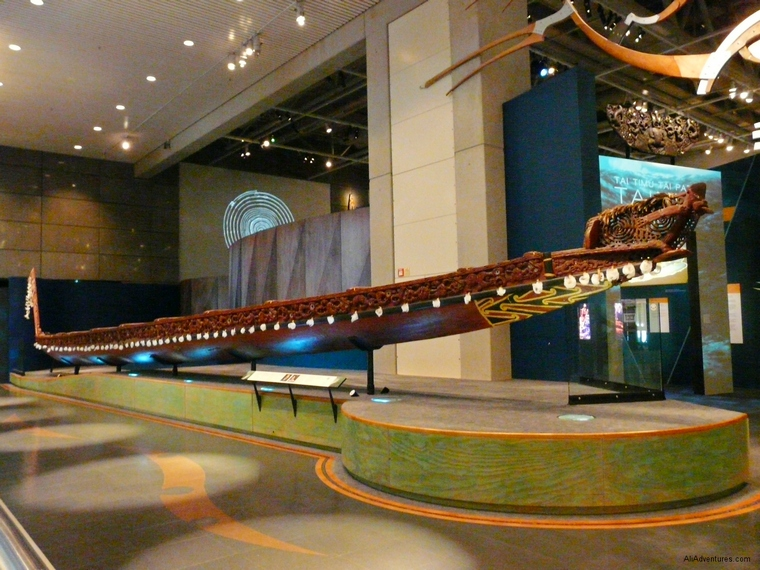 free things to do in Wellington, New Zealand - go to the Te Papa Museum