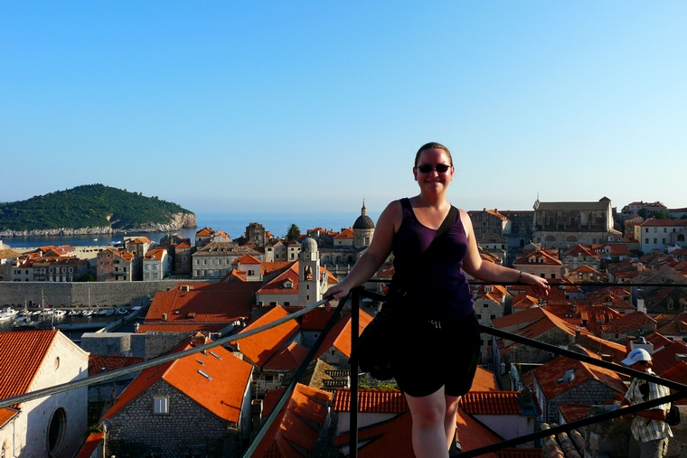 Solo travel sucks. Do it anyway. Me on a solo trip to Dubrovnik, Croatia.