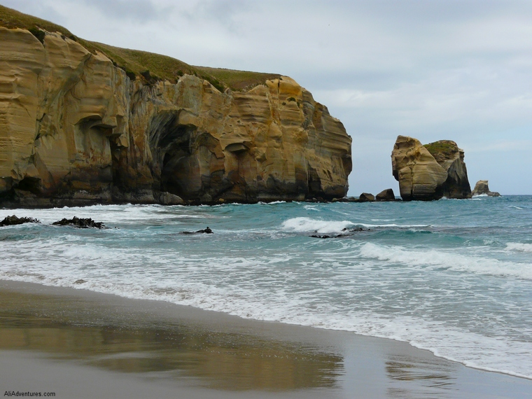 best things to see in Dunedin - Tunnel Beach