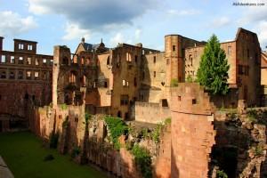Heidelberg Castle Still Guarding Its Walls