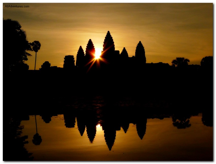 best sunrise photos - Angkor Wat, Siem Reap, Cambodia