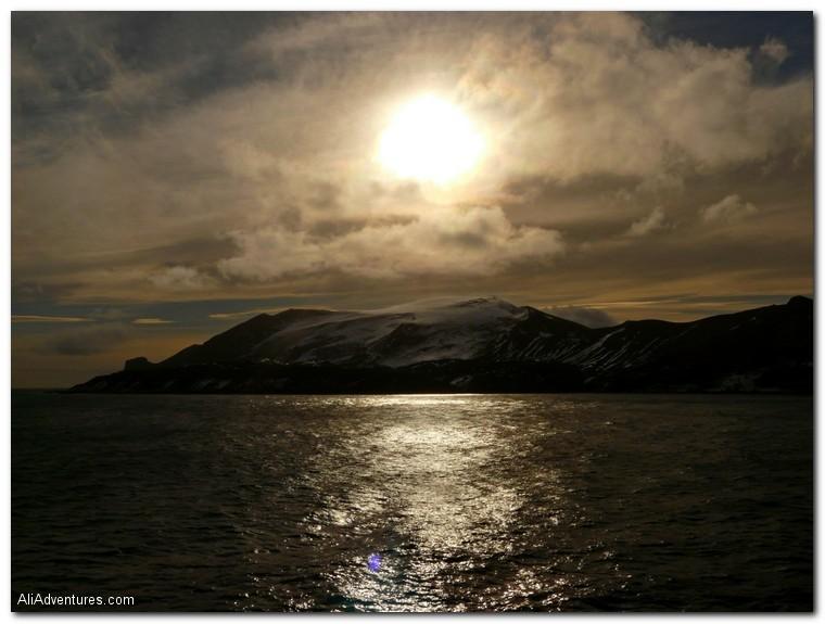 top sunset photos - Antarctica