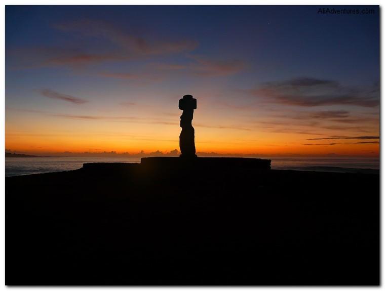 top sunset photos - Easter Island