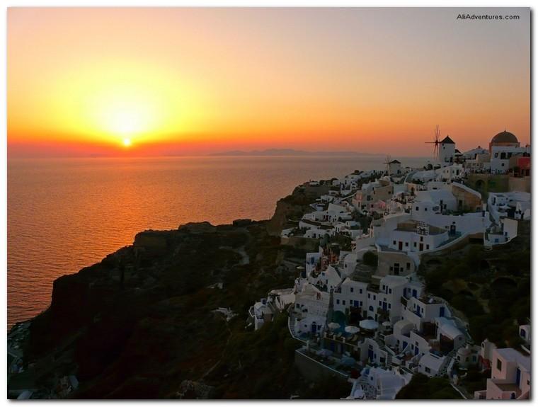 top sunset photos - Santorini, Greece