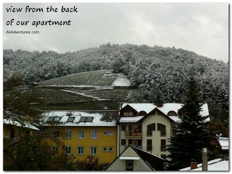 Freiburg snow