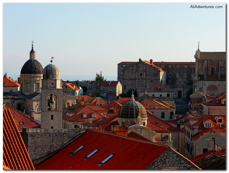 not enough time for all the travel - Dubrovnik, Croatia roofs