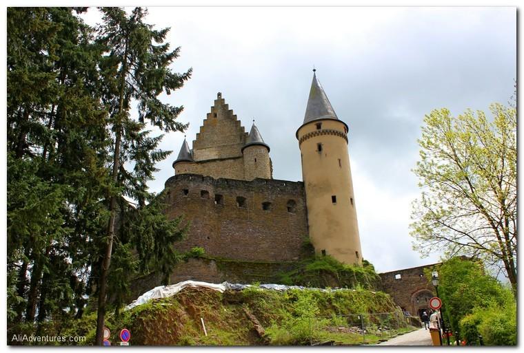 Vianden Castle, Luxembourg
