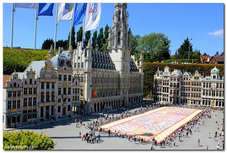 how much we spent traveling in Belgium
