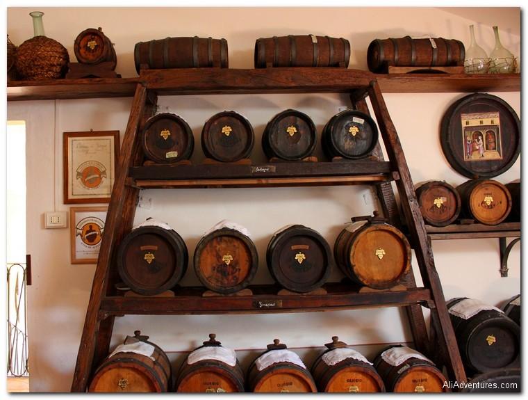 Traditional Balsamic Vinegar tasting in Modena, Italy