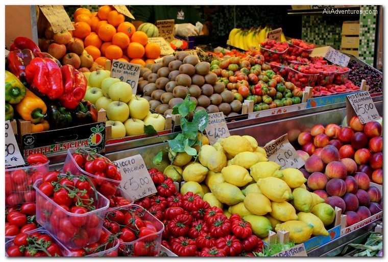 Bologna, Italy market