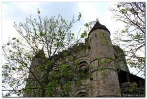 Castle Gravensteen in Ghent, Belgium