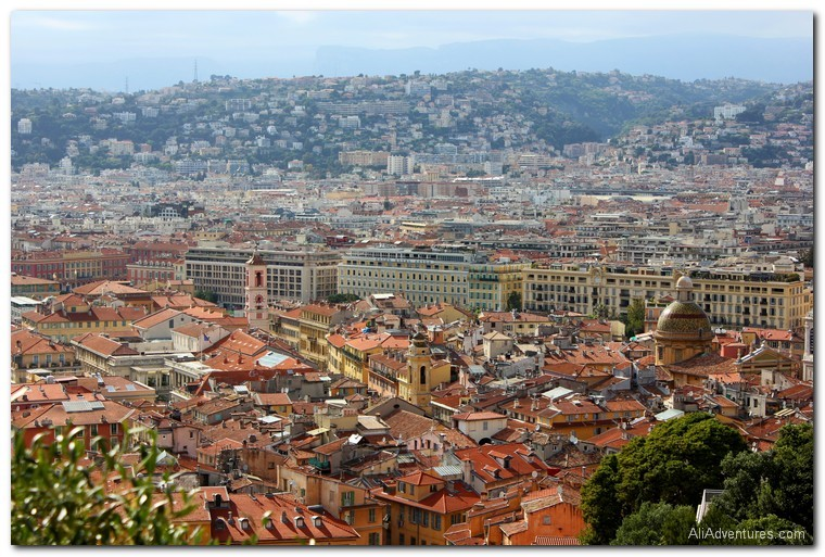 Nice, France from above