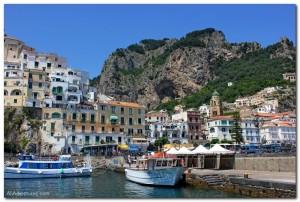 A Boat Trip Along the Amalfi Coast