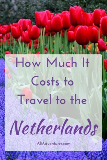 The Netherlands is more than just Amsterdam. Take some time to explore other cities and regions. Here's how much we spent traveling in the Netherlands. #netherlands #amsterdam #rotterdam #budgettravel #traveltips