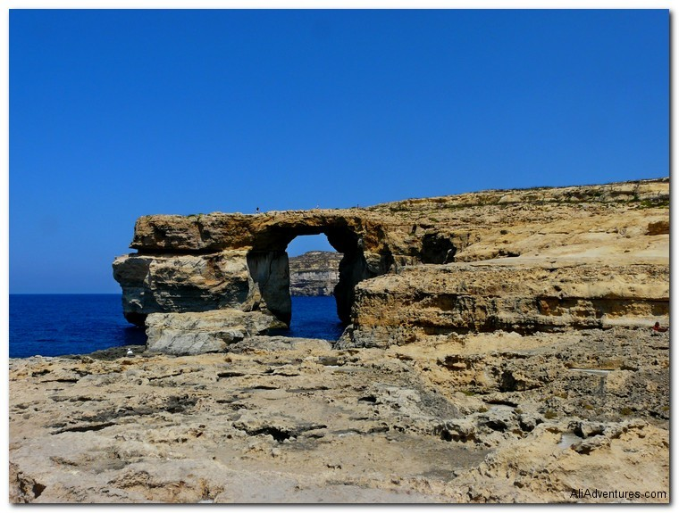 not enough time for all the travel - Malta Azure Window
