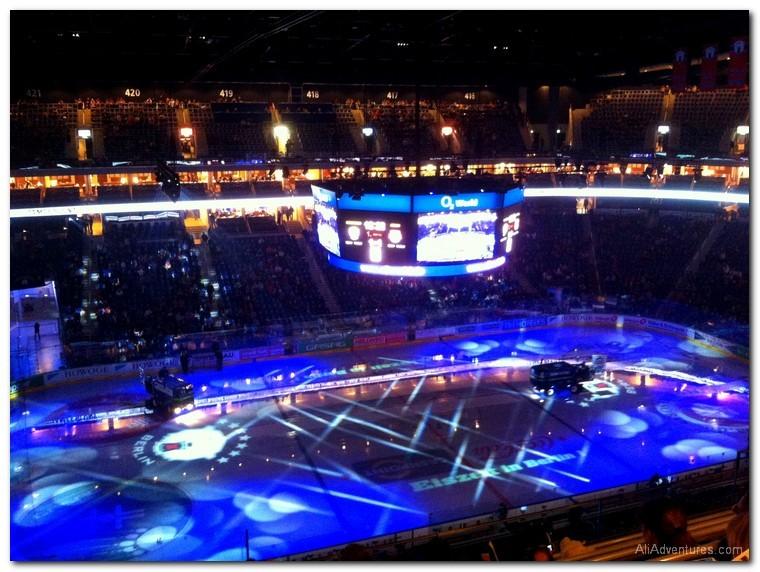Berlin hockey game