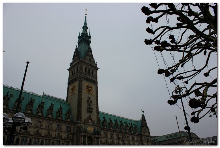 Hamburg photos city hall