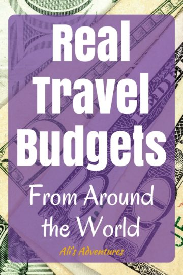 Coming up with a trip budget is an important part of planning a vacation. Here's a look at my travel spending and real travel budgets from around the world. I don't travel bare-bones budget, but I'm also not a luxury traveler, so this should give you a more realistic view of what travel costs are in certain destinations. | how much does it cost to travel | how much does it cost to travel the world | how much money do you need to travel