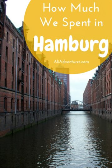Hamburg is one of Germany's great cities and is well worth a trip, though it's not cheap. Here's how much we spent traveling in Hamburg for three nights. #germany #hamburg #budgettravel #traveltips