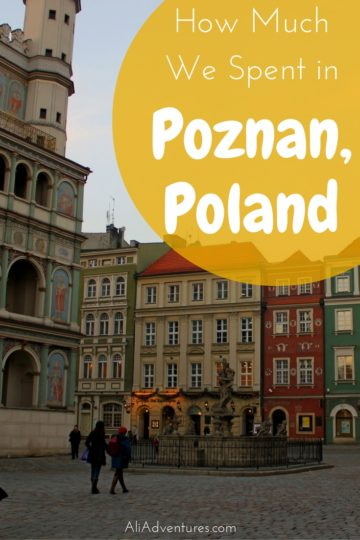 If you're looking for a cheap destination in Europe, check out Poland. Here's how much we spent traveling in Poznan during the ice sculpture festival. #poland #poznan #budgettravel #traveltips