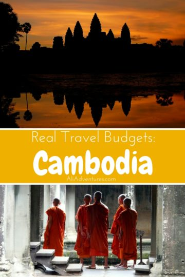 Cambodia is one of the cheapest countries in Southeast Asia and packed with history. Here's a look at how much we spent traveling in Cambodia for two weeks. #cambodia #budgettravel #traveltips
