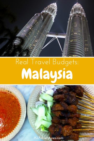 Malaysia is often overlooked in favor of Thailand, but we enjoyed our time in Penang and Kuala Lumpur. Here's how much we spent traveling in Malaysia. #malaysia #kualalumpur #penang #budgettravel #traveltips