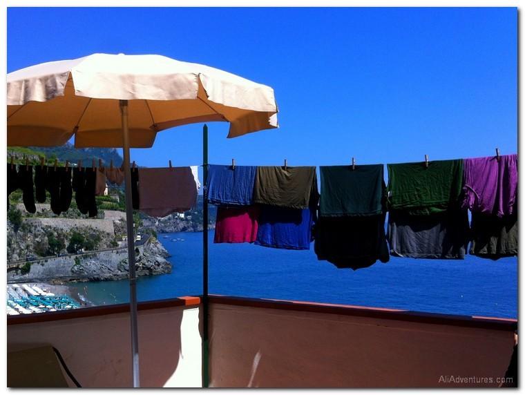 travel laundry