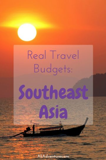Thailand and its neighbors can be a cheap place to travel while soaking up some sun. Here's how much we spent traveling in Southeast Asia for two months. #southeastasia #seasia #asia #singapore #cambodia #thailand #malaysia #budgettravel #traveltips