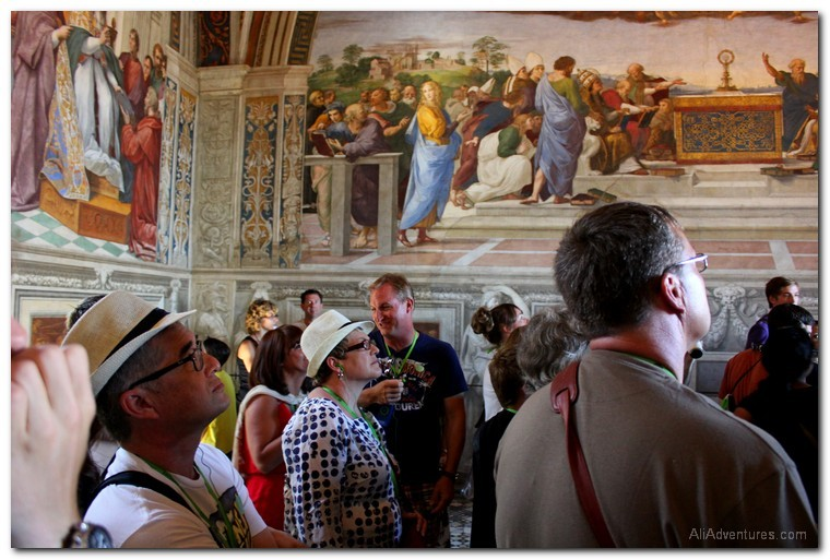 top sights in Rome to see other tourists