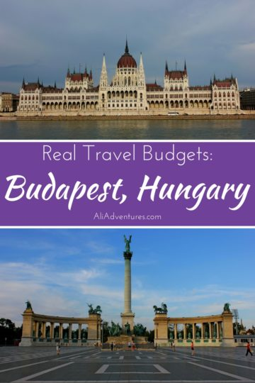 Visiting non-euro countries can often be easier on your travel budget. Here's a look at how much we spent traveling in Budapest, Hungary for one week. #hungary #budapest #budgettravel #traveltips