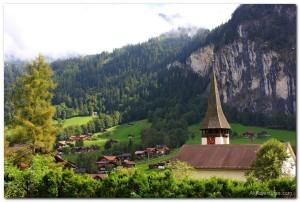 Scenes from Lauterbrunnen and Interlaken, Switzerland