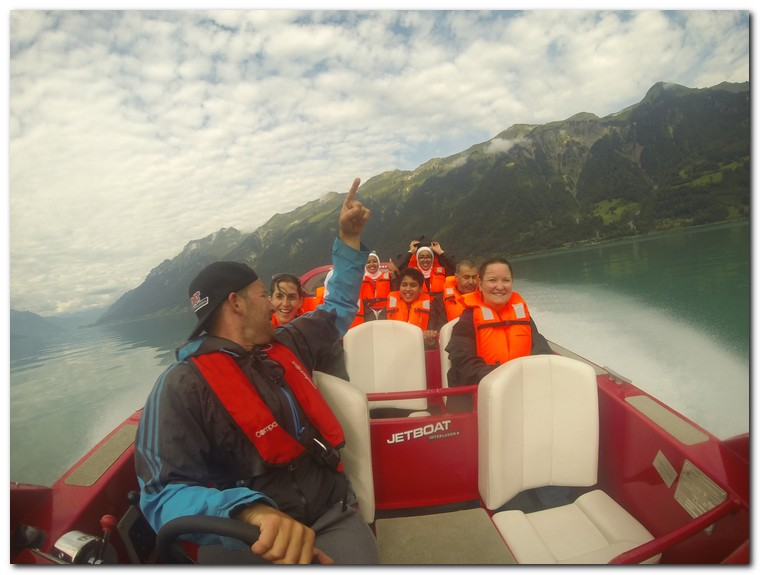 JetBoat Interlaken, Switzerland