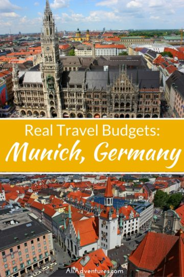 Munich is one of Germany's most popular cities and for good reasons, but it doesn't have to blow your budget. Here's how much we spent traveling in Munich. #germany #munich #budgettravel #traveltips