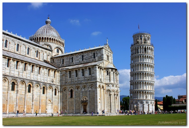 how much we spent living in Pisa and traveling in Tuscany