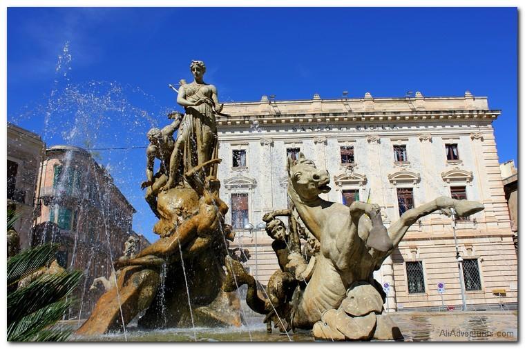 sights in Syracuse, Sicily
