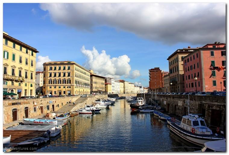 visiting Livorno, Italy