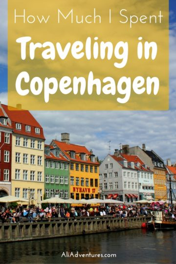 Denmark is not a cheap European destination but there are ways to keep costs down and enjoy your trip. So how expensive is Copenhagen? Here's how much I spent traveling in Copenhagen. Copenhagen travel costs | how much does a trip to Copenhagen cost | Copenhagen travel budget #copenhagen #denmark #budgettravel #traveltips