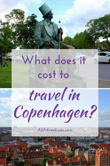 Is Copenhagen expensive? Denmark is not a cheap European destination but there are ways to keep costs down and enjoy your trip. Here's how much I spent traveling in Copenhagen. Copenhagen travel costs | how much does a trip to Copenhagen cost | Copenhagen travel budget #copenhagen #denmark #budgettravel #traveltips