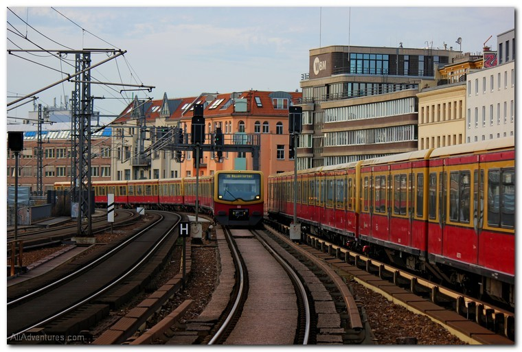 riding the rails - thoughts from the Sbahn in Berlin