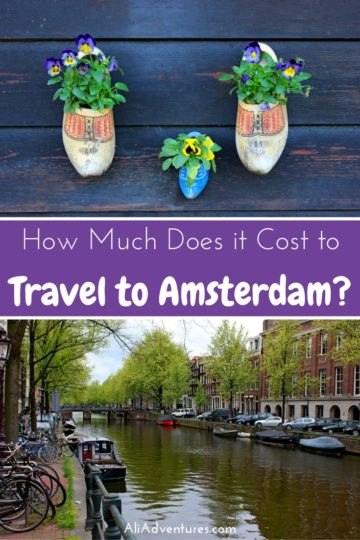 I spent a low key week in Amsterdam, including a food tour and a day trip to see the windmills. Here's how much I spent traveling in Amsterdam for one week. #netherlands #amsterdam #budgettravel #traveltips