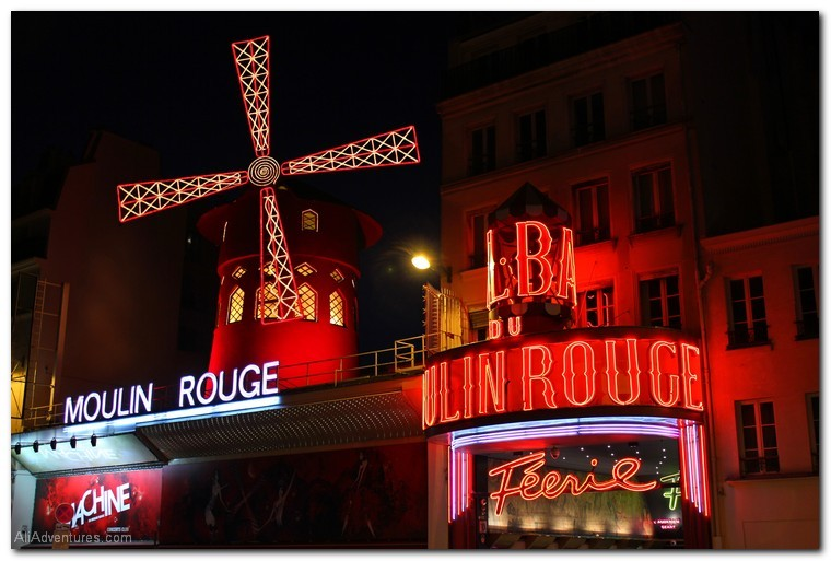 How much I spent traveling for one week in Paris - Moulin Rouge
